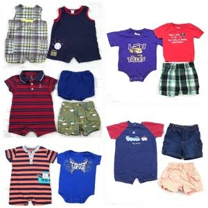 13 summer items for Infant Baby Boy Size 6 month